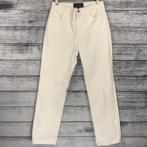 NYDJ Denim - Not Your Daughter Jeans White Size 6 Straight Leg